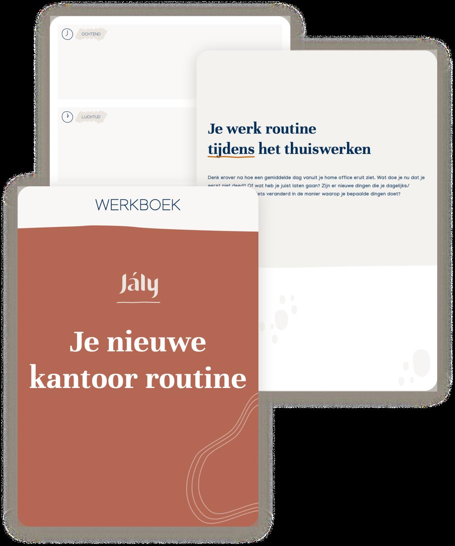 template: kantoor routine